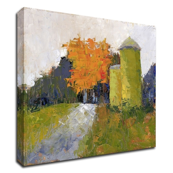 """""""Silos"""" by Carol Maguire, Print on Canvas, Ready to Hang"""