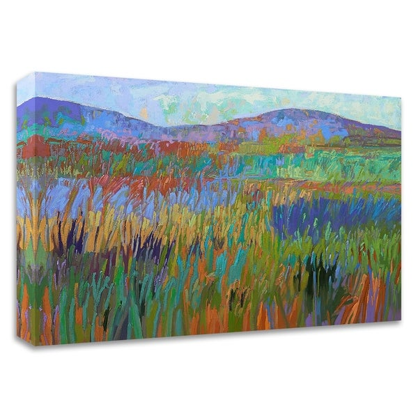 """""""Color Field No. 68"""" by Jane Schmidt, Print on Canvas, Ready to Hang"""