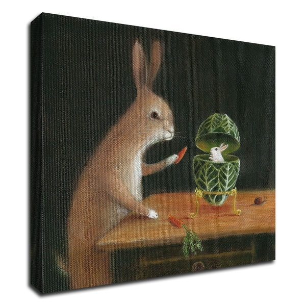 """""""Peter Carl Faberge"""" by DD McInnes, Print on Canvas, Ready to Hang"""
