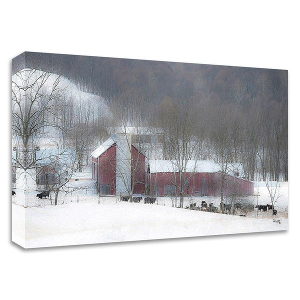 """Miller's Farm"" by Matthew Platz, Print on Canvas, Ready to Hang"