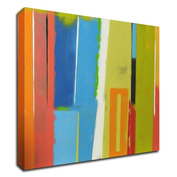 """""""Urban Summer 19"""" by Gill Miller, Print on Canvas, Ready to Hang"""