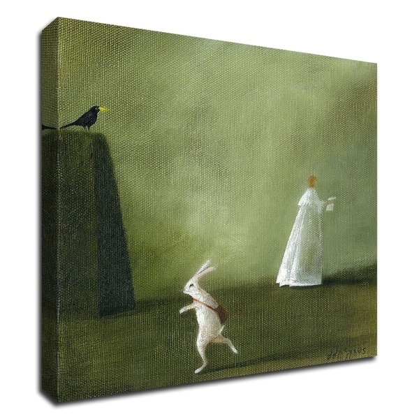 """The Ghost Letter"" by DD McInnes, Print on Canvas, Ready to Hang"