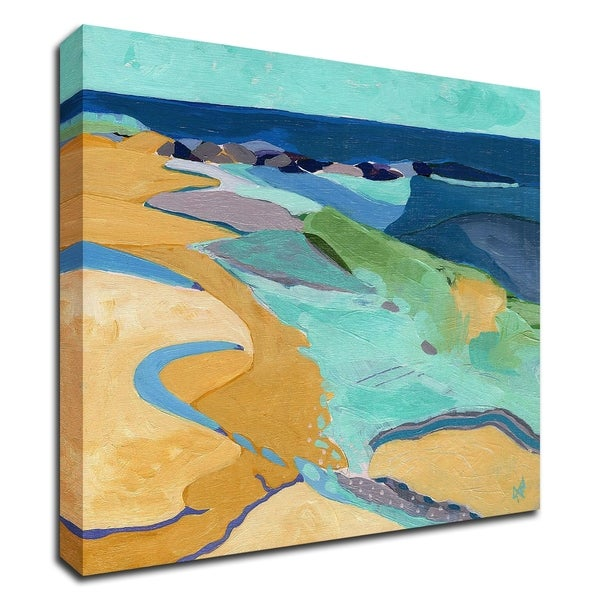 """""""Seaside"""" by Ann Thompson Nemcosky, Print on Canvas, Ready to Hang"""