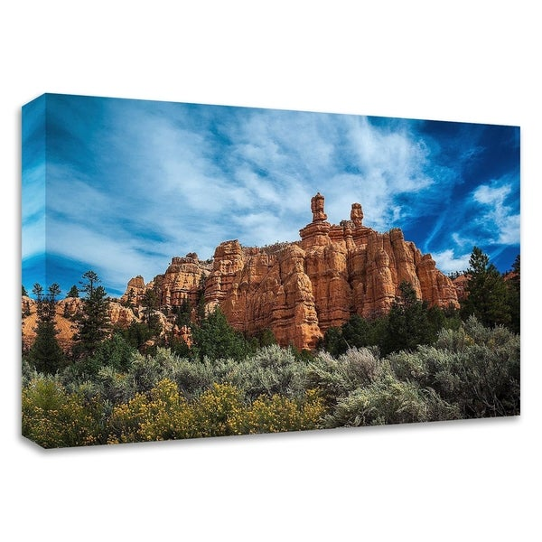 """Red Canyon"" by Tim Oldford, Print on Canvas, Ready to Hang"
