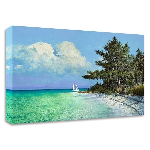 """Cayo Costa Beach"" by Kent Sullivan, Print on Canvas, Ready to Hang"