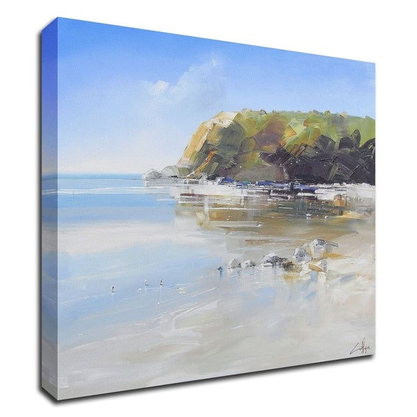 """Coast Line"" by Craig Trewin Penny, Print on Canvas, Ready to Hang"