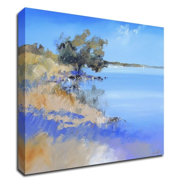 """Lake Bolac"" by Craig Trewin Penny, Print on Canvas, Ready to Hang"