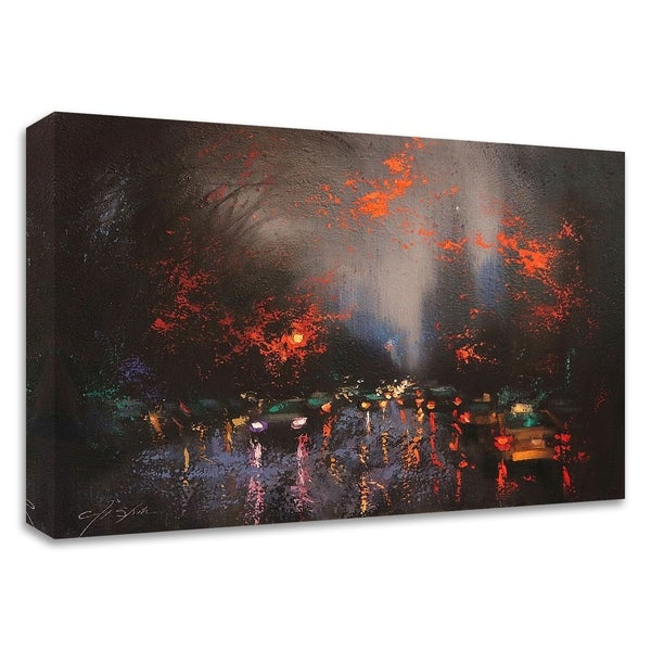 """""""Rainy Day 6"""" by Chin H. Shin, Print on Canvas, Ready to Hang"""