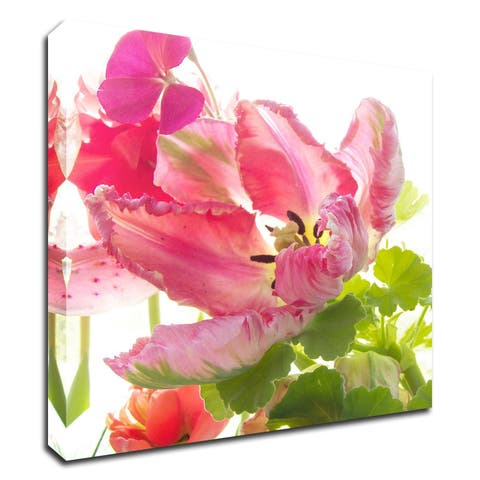 """""""Parrot Tulip One"""" by Judy Stalus, Print on Canvas, Ready to Hang"""