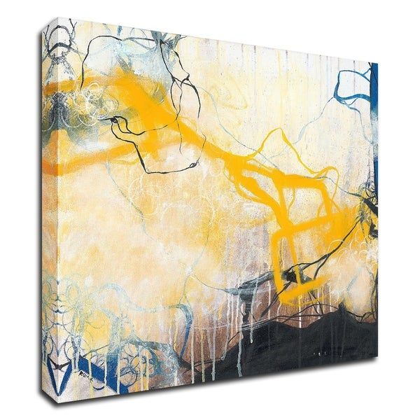 """""""Storms"""" by Romeo Zivoin, Print on Canvas, Ready to Hang"""