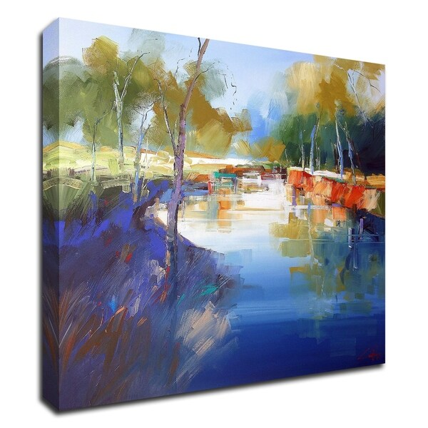 """""""Morning at Cobram"""" by Craig Trewin Penny, Print on Canvas, Ready to Hang"""