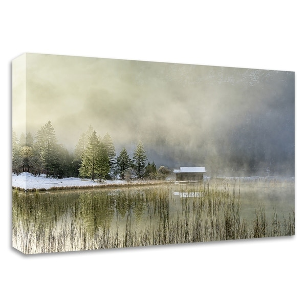 """""""First Touch of Snow"""" by Anne Schneidersmann, Print on Canvas, Ready to Hang"""