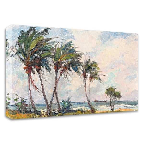 """""""Six Palms"""" by Richard A. Rodgers, Print on Canvas, Ready to Hang"""