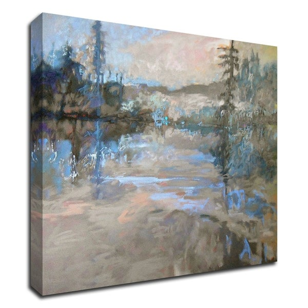 """""""River"""" by Jane Schmidt, Print on Canvas, Ready to Hang"""
