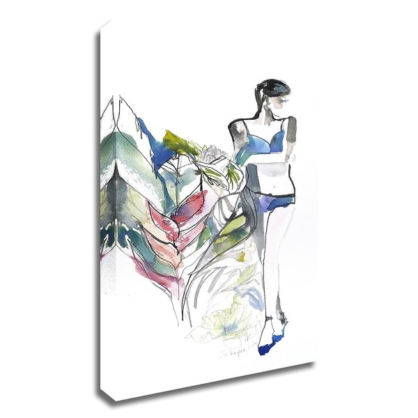 """""""Lingerie Lady"""" by Schuyler Rideout, Print on Canvas, Ready to Hang"""