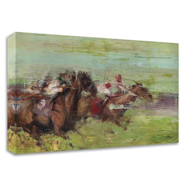 """""""Running"""" by Valtcho Tonov, Print on Canvas, Ready to Hang"""