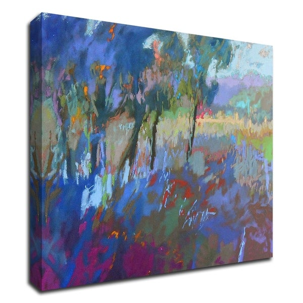 """""""Color Field 44"""" by Jane Schmidt, Print on Canvas, Ready to Hang"""