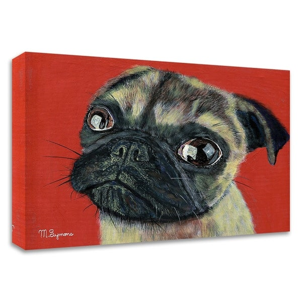 """""""Pugly"""" by Melissa Symons, Print on Canvas, Ready to Hang"""