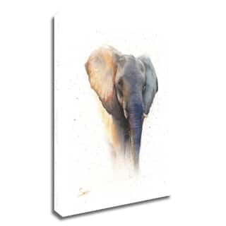 """""""Elephant Watercolor"""" by Eric Sweet, Print on Canvas, Ready to Hang"""