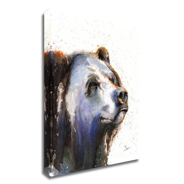 """""""Bear Portrait"""" by Eric Sweet, Print on Canvas, Ready to Hang"""