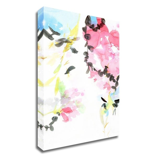 """Spring Blossoms 2"" by Elisa Sheehan, Print on Canvas, Ready to Hang"