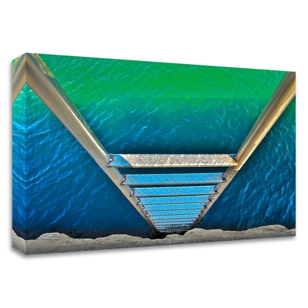 """""""Sea Ladder"""" by Verne Varona, Print on Canvas, Ready to Hang"""