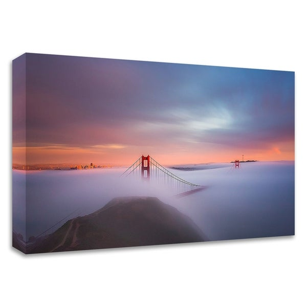 """Just Another Day in the Bay"" by Toby Harriman Visuals, Print on Canvas, Ready to Hang"
