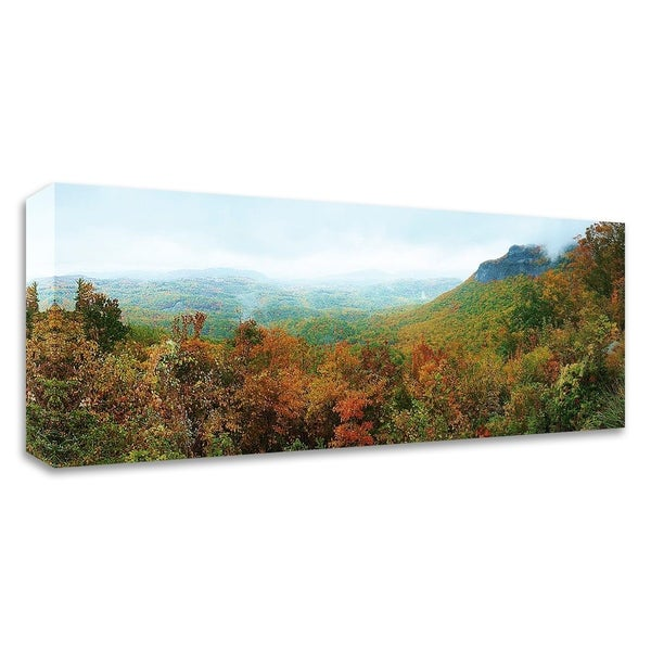"""Whiteside Overlook"" by Steve Vaughn, Print on Canvas, Ready to Hang - 32 x 12"