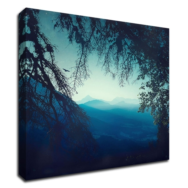 """Blue Morning"" by Dirk Wustenhagen, Print on Canvas, Ready to Hang"