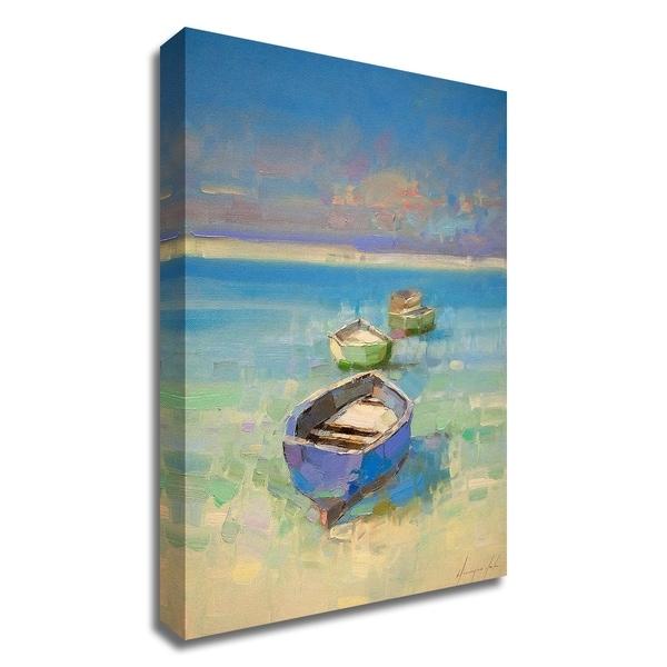 """Caribbean Beach"" by Vahe Yeremyan, Print on Canvas, Ready to Hang"