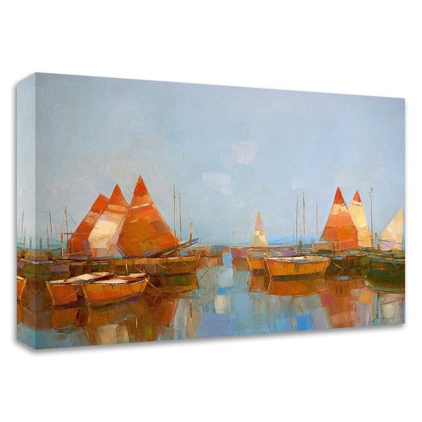 """""""Gateway Harbor Park"""" by Vahe Yeremyan, Print on Canvas, Ready to Hang"""