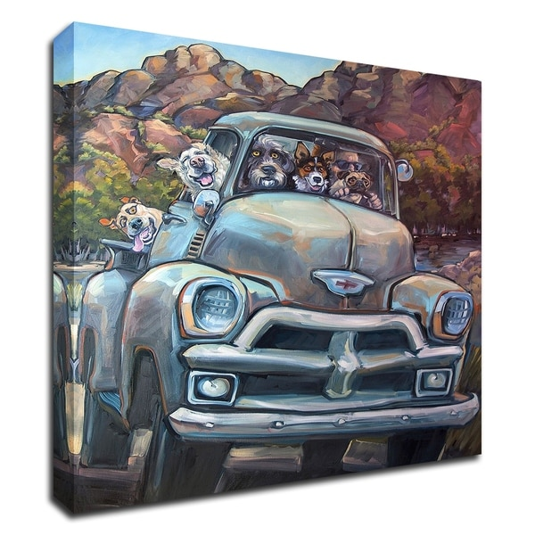 """Go Time"" by CR Townsend, Print on Canvas, Ready to Hang"