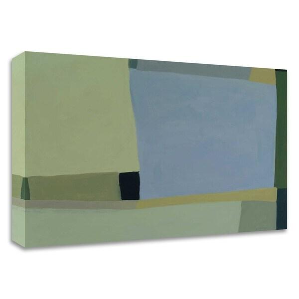 """Loretta's View 6"" by Tamar Zinn, Print on Canvas, Ready to Hang"