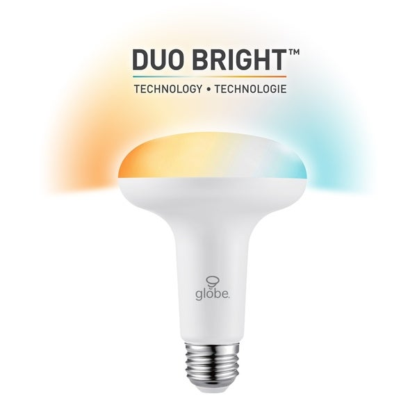 DuoBright Technology BR30 Tunable w/ Color Temp Select Bulb (2-Pk) - White. Opens flyout.