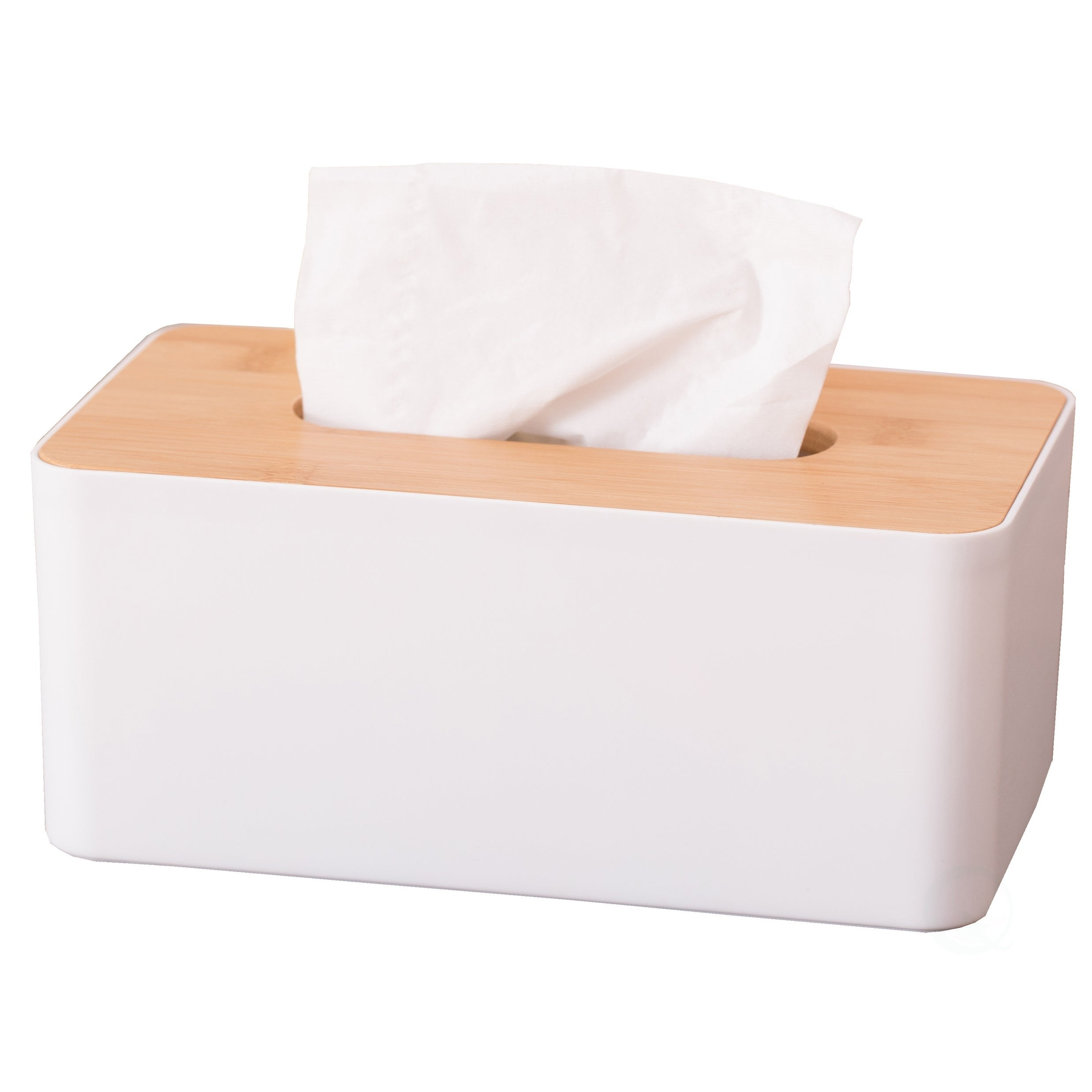 Juvale Tissue Box Wood Cover Holder Free Shipping Red White.. American Flag