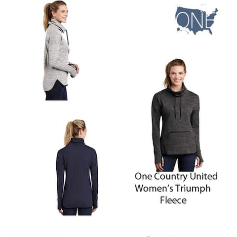 One Country United Women's Triumph Fleece Pullover