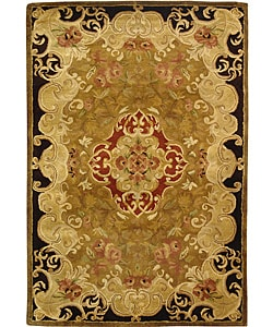 Safavieh Handmade Classic Juliette Gold Wool Runner (2'3 x 4')