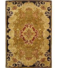 Safavieh Handmade Classic Juliette Gold Wool Runner Rug