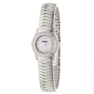 Ebel Classic Wave Women's Water-Resistant Diamond Quartz Watch