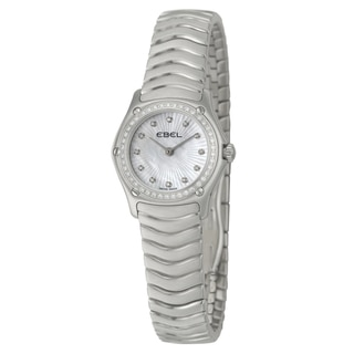 Ebel Classic Wave Women's Diamond Quartz Watch