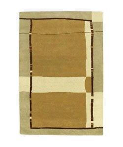 Hand-tufted Sharda Wool Rug - 8' x 10'6 - Thumbnail 0