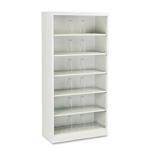 Hon 600 Series 6 Shelf Steel Open Shelf Legal File Cabinet