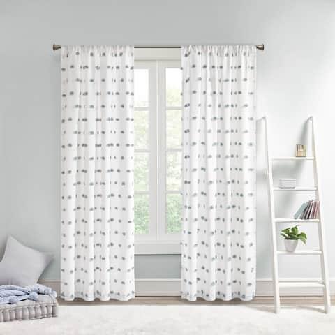 Taylor & Olive Clover Pom Pom Single Window Panel