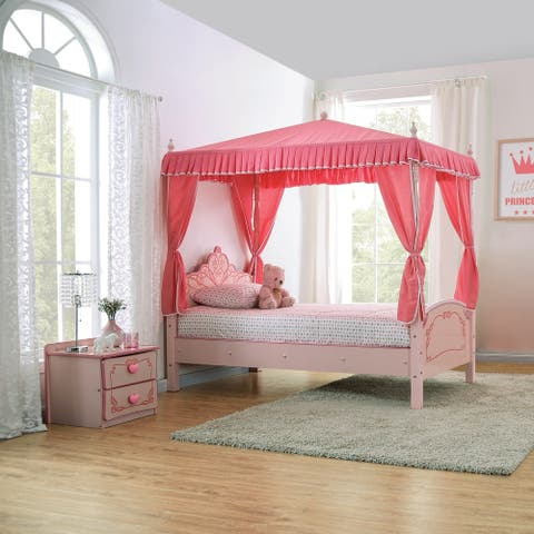Furniture of America Telfs Pink 2-piece Bedroom Set