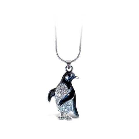 Puzzled Penguin Fashionable Necklace / Pendant Jewelry - Ocean \ Sea Life Collection - Unique Gift and Souvenir - Item #6319