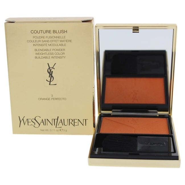 Yves Saint Laurent Couture Blush - 3 Orange Perfecto 0.11 oz Blush COSMETIC