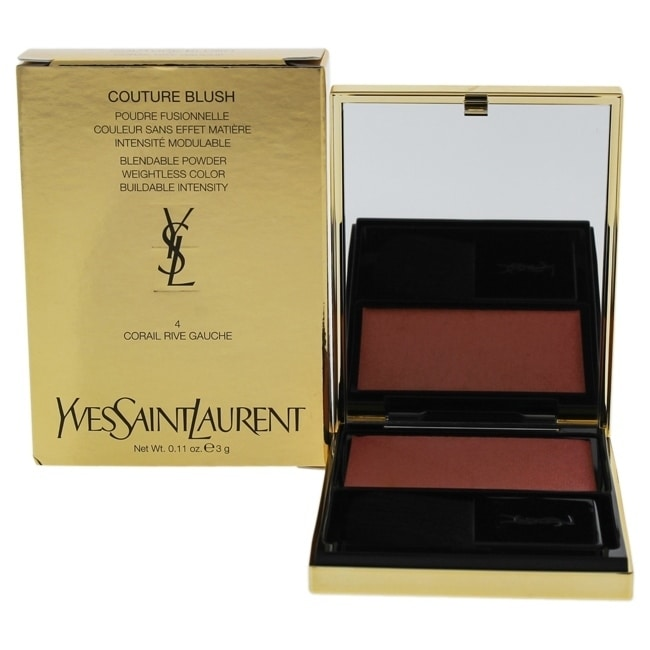 Yves Saint Laurent Couture Blush - 4 Corail Rive Gauche 0.11 oz Blush COSMETIC