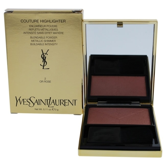 Yves Saint Laurent Couture Highlighter - 2 Or Rose 0.11 oz Highlighter COSMETIC