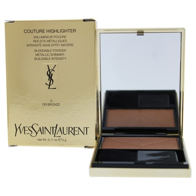 Yves Saint Laurent Couture Highlighter - 3 Or Bronze 0.11 oz Highlighter COSMETIC