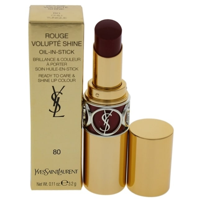 Yves Saint Laurent Rouge Volupte Shine Oil-In-Stick Lipstick - 80 Chili Tunique 0.11 oz Lipstick COSMETIC